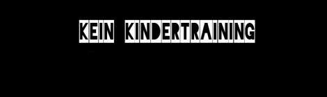 16.12_Kein Kindertraining